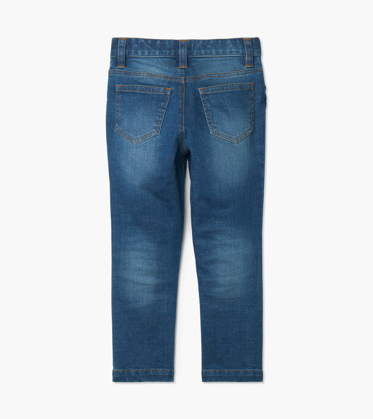 View larger image of Navy Stretch Denim Pant