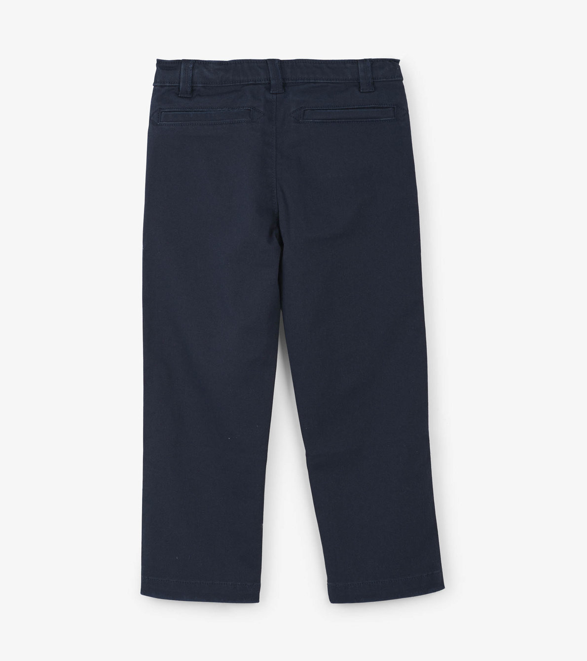View larger image of Navy Stretch Twill Pants