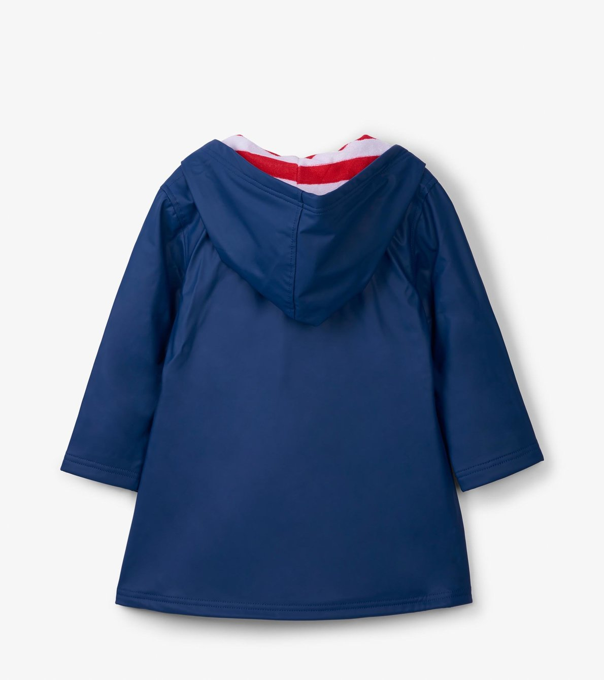 View larger image of Navy with Red Stripe Lining Splash Jacket