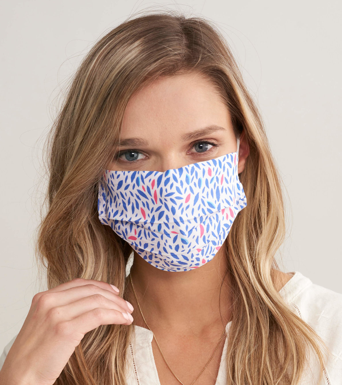 View larger image of Non-Medical Reusable Adult Face Mask - Diamond Dots