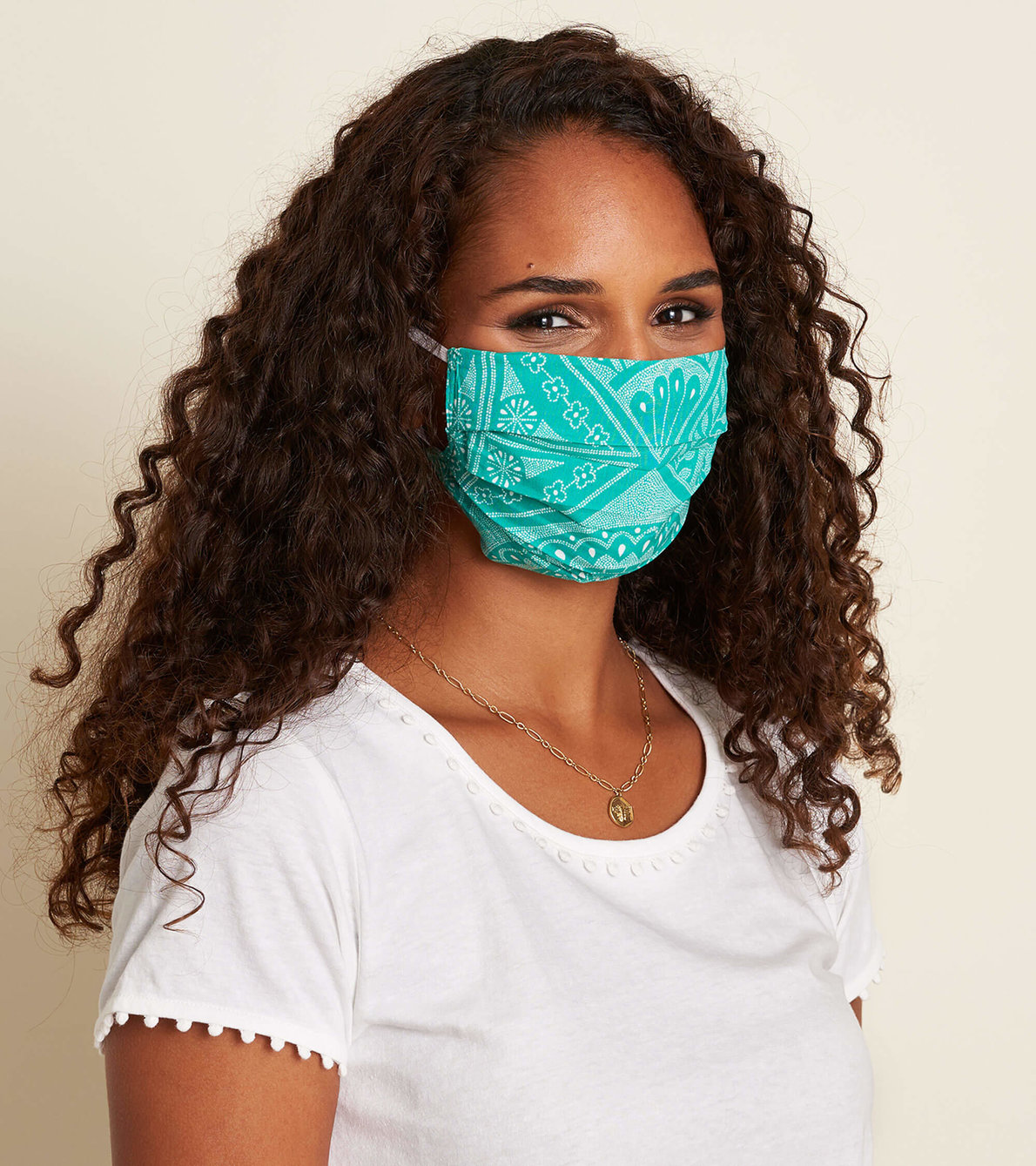 View larger image of Non-Medical Reusable Adult Face Mask - Dotted Tiles