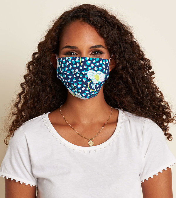 Non-Medical Reusable Adult Face Mask - Flower Dots