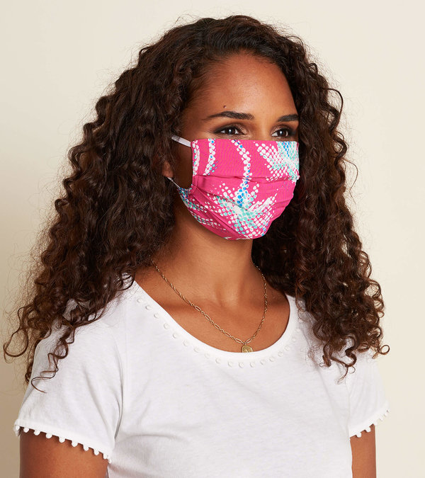 Non-Medical Reusable Adult Face Mask - Palm Mirage