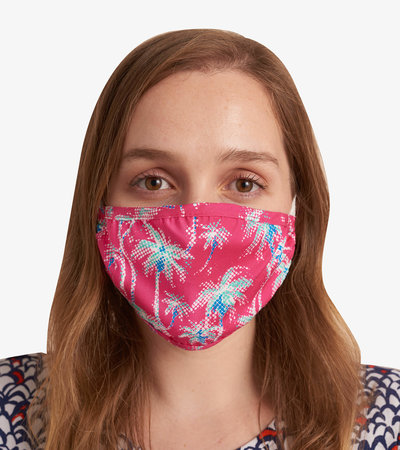 Non-Medical Reusable Adult Face Mask - Palm Trees