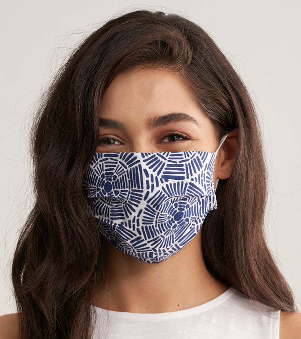 Non-Medical Reusable Adult Face Mask - Sand Dollars