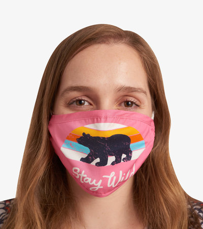 Non-Medical Reusable Adult Face Mask - Stay Wild