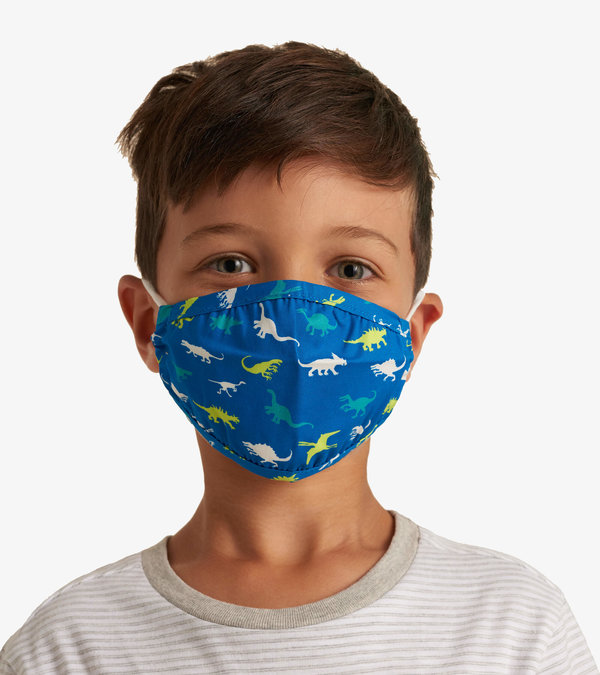 Non-Medical Reusable Toddler Face Mask - Dinosaur Menagerie