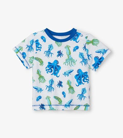 Octopuses Baby Graphic Tee