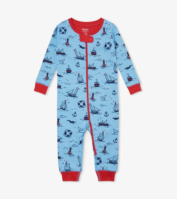 Out At Sea Organic Cotton Coverall