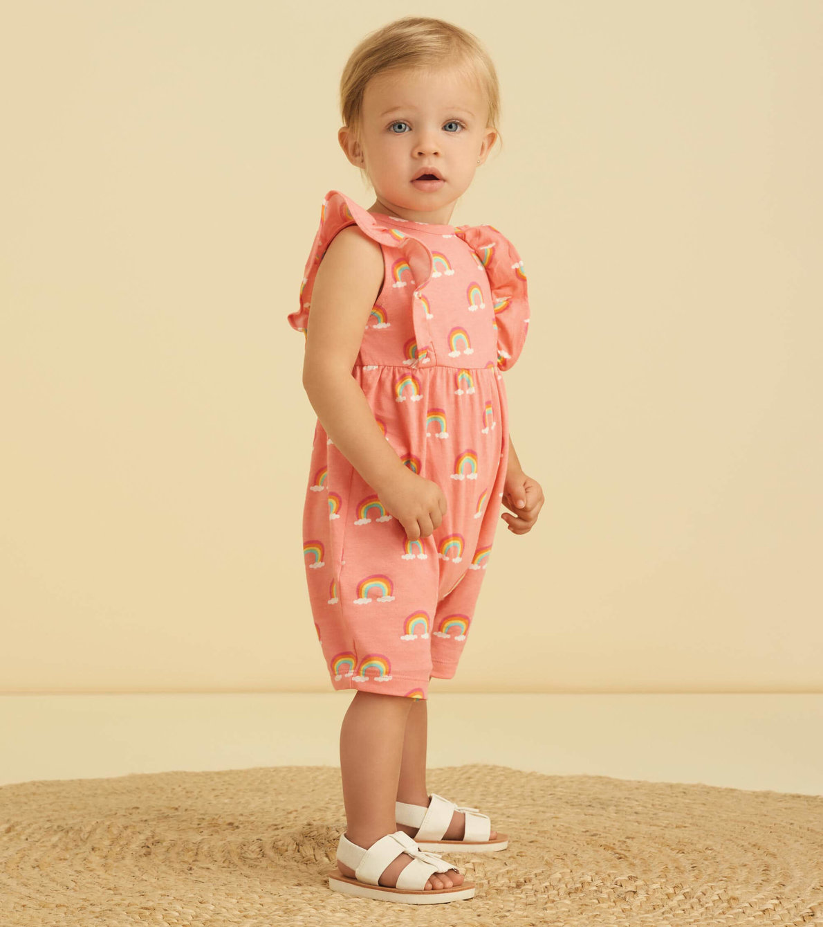 View larger image of Over The Rainbow Baby Cha-Cha Romper