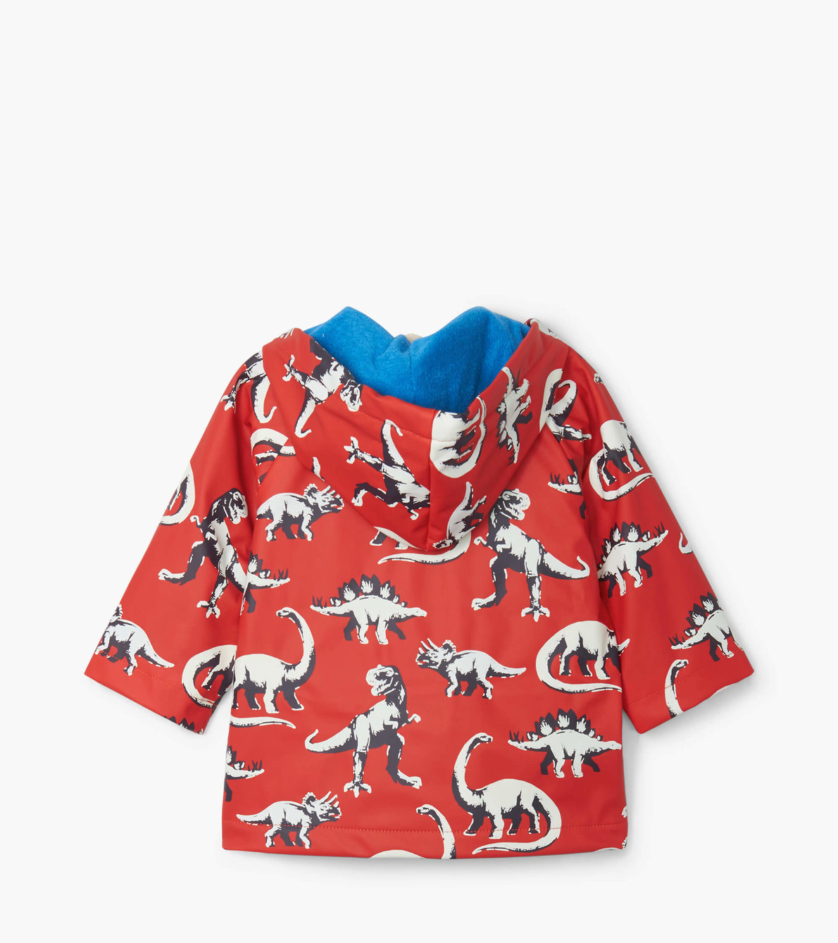 View larger image of Painted Dinos Colour Changing Baby Raincoat