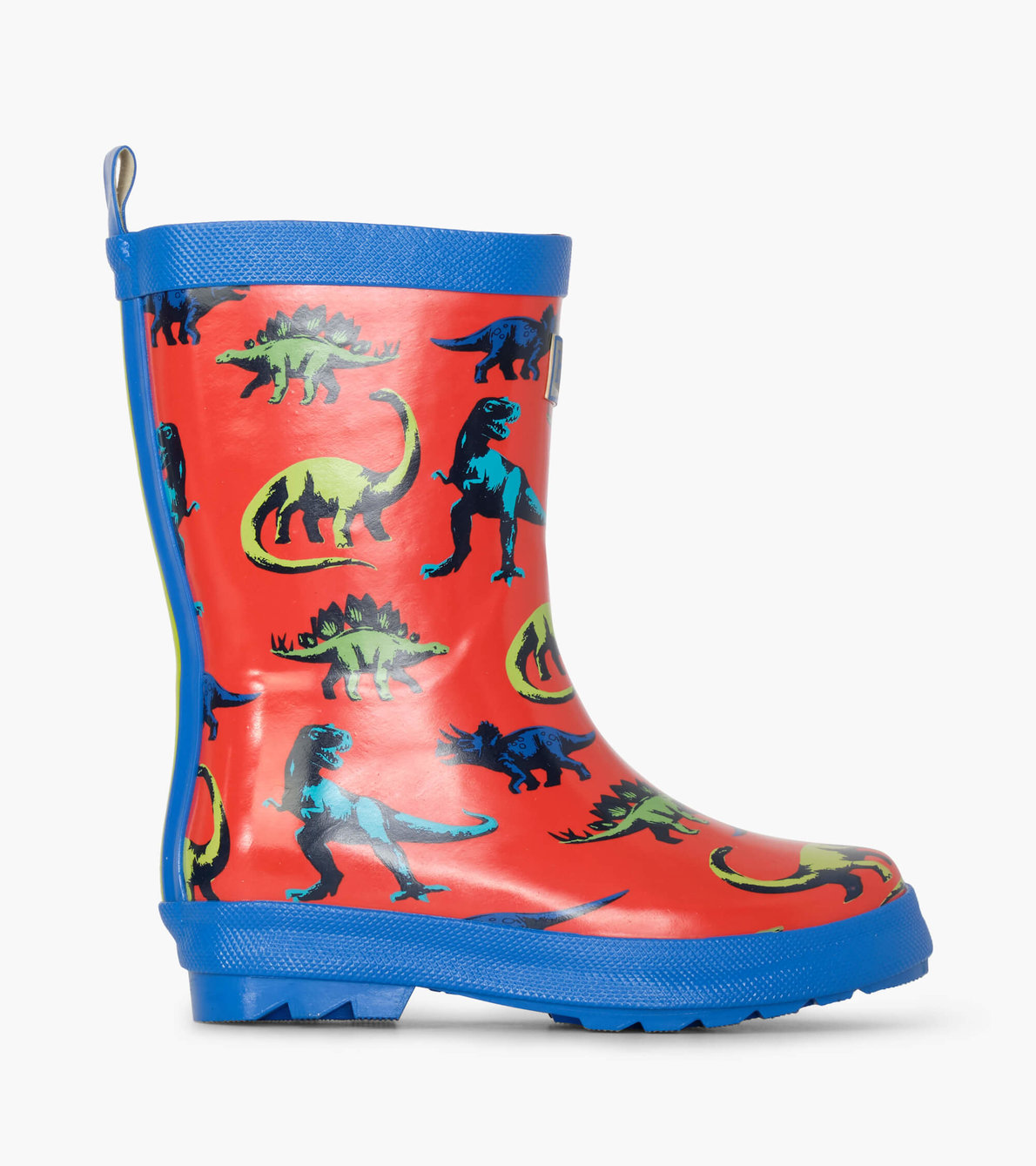 View larger image of Painted Dinos Shiny Rain Boots