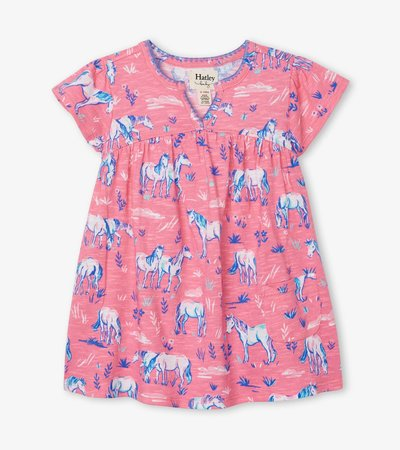 Painted Pasture Baby Puff Dress