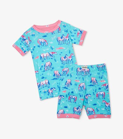 Painted Pasture Organic Cotton Short Pajama Set