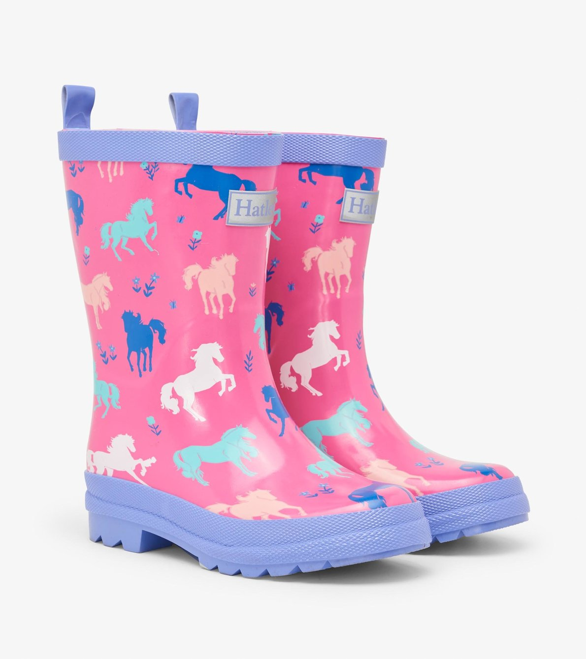 View larger image of Painted Pasture Shiny Rain Boots