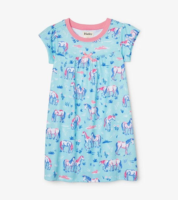 Painted Pasture Short Sleeve Nightdress