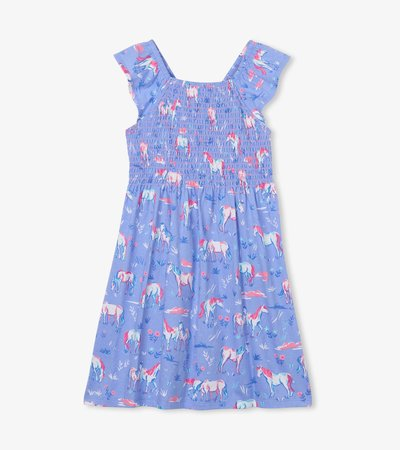 Painted Pasture Smocked Dress