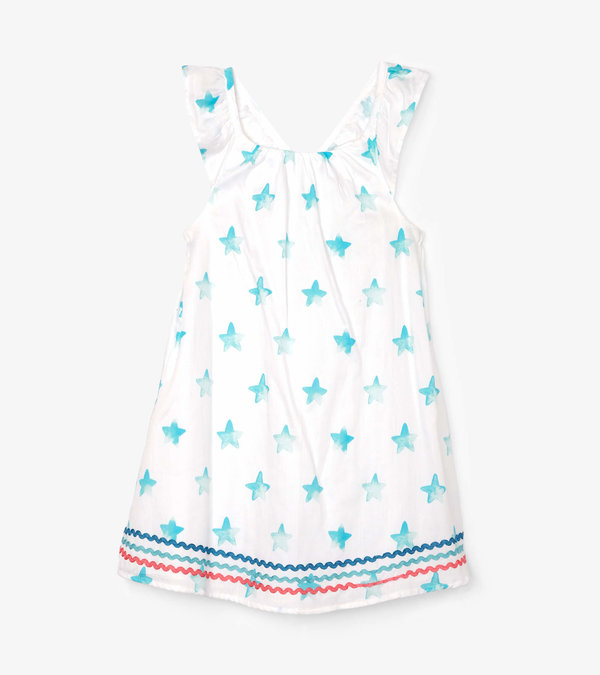 Painted Stars Bow Back Dress
