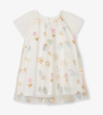 Party Confetti Baby Rainbow Tulle Dress