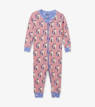 Patchwork Kitty Organic Cotton Coverall