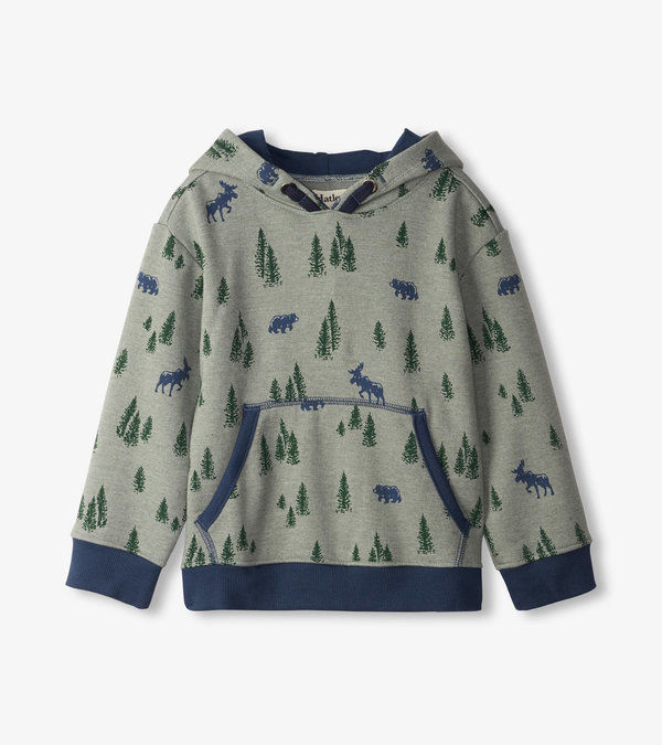 Pine Forest Pull Over Hoodie