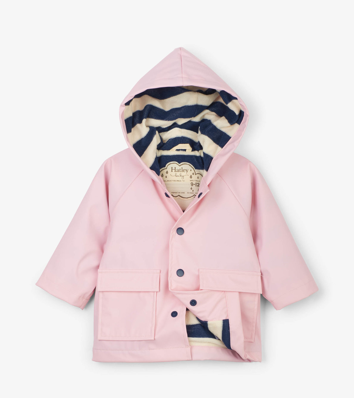 View larger image of Pink Baby Raincoat