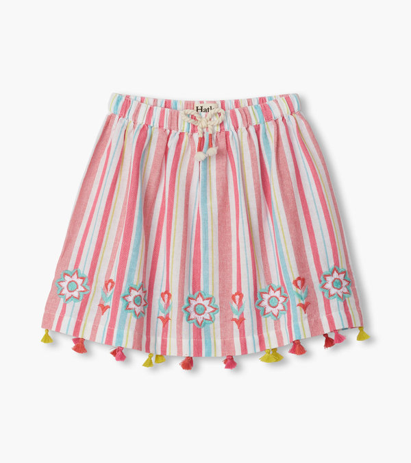 Pink Lemonade Tassel Skirt