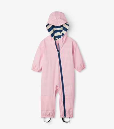 Pink Terry Lined Baby Bundler