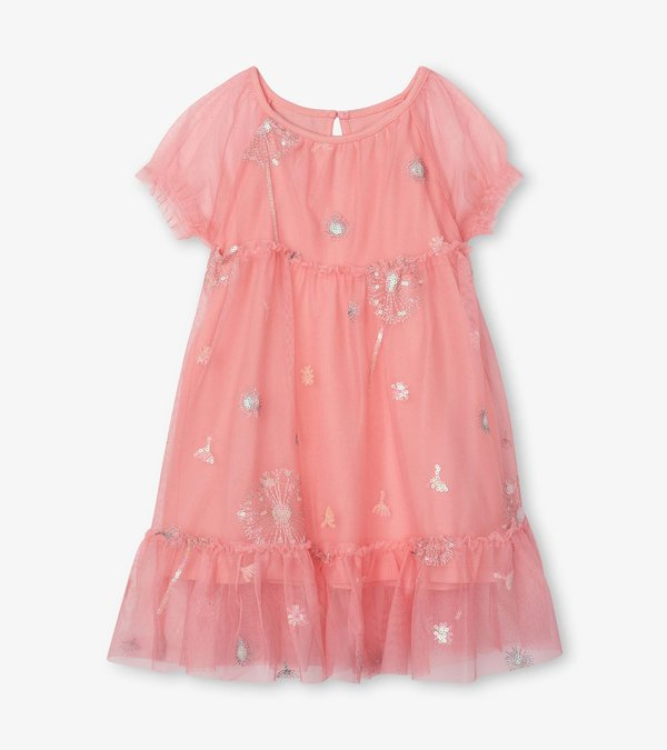 Precious Dandelion Baby Tulle Dress