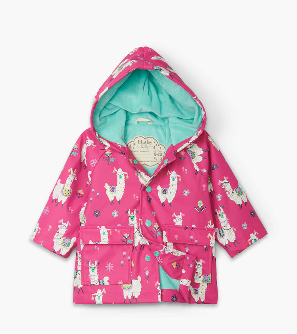 Pretty Alpacas Baby Raincoat