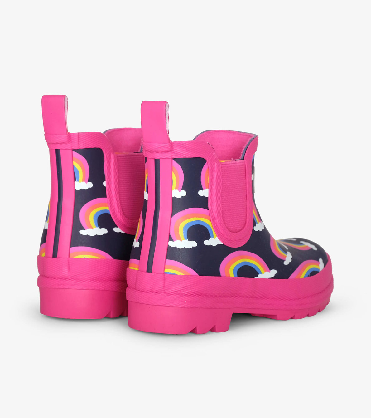 View larger image of Rainbow Arches Ankle Rain Booties