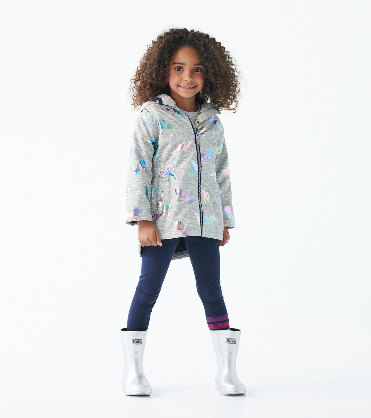 View larger image of Rainbow Horses Microfleece Lined Jacket