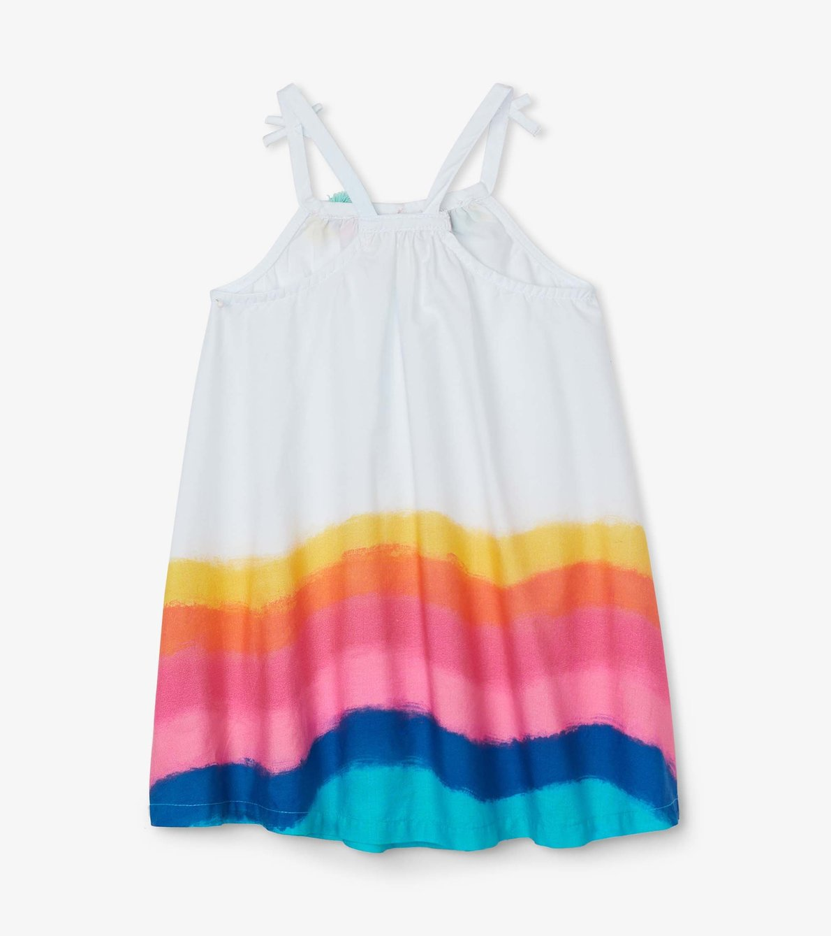 View larger image of Rainbow Waves Baby A-Line Swing Dress
