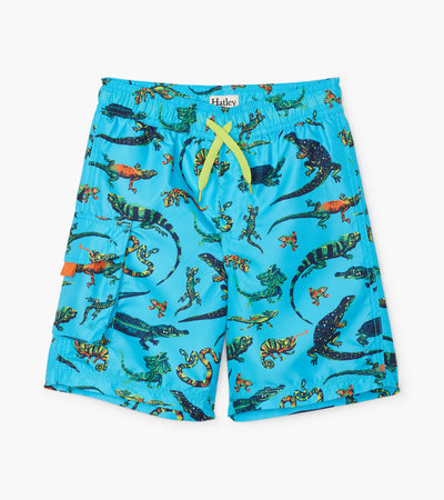 Rambunctious Reptiles Swim Trunks