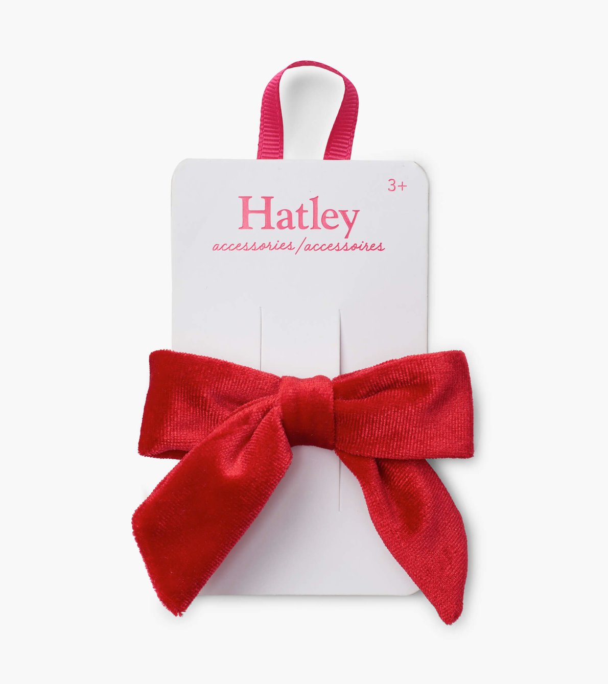 View larger image of Red Velvet Bow Hair Clip
