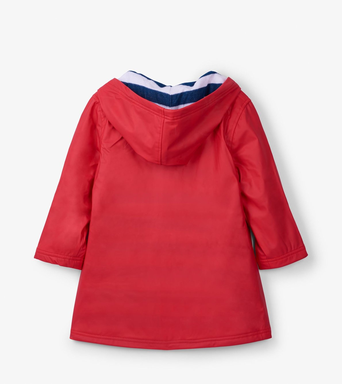 View larger image of Red with Navy Stripe Lining Splash Jacket