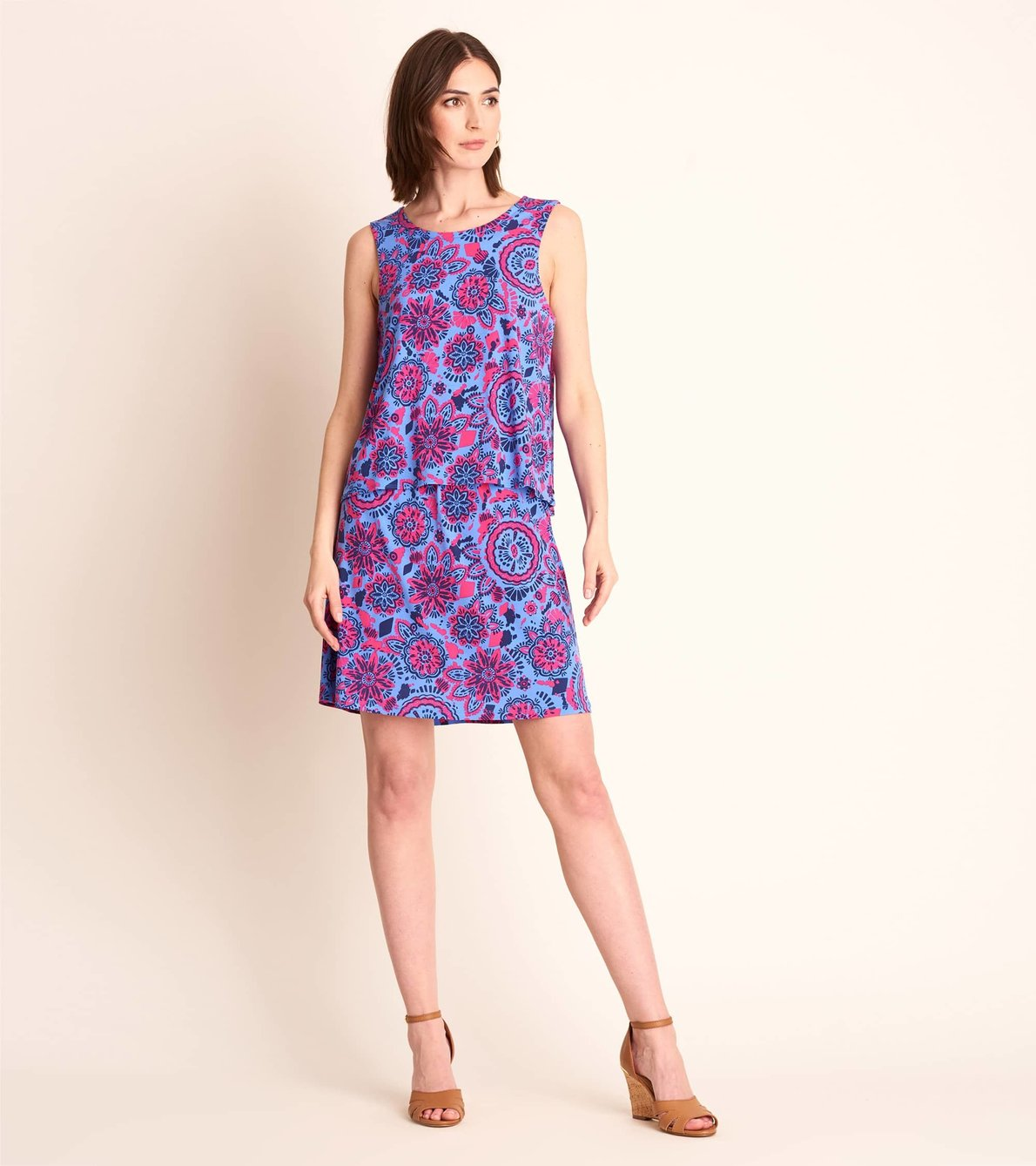View larger image of Roberta Dress - Mandala Flowers