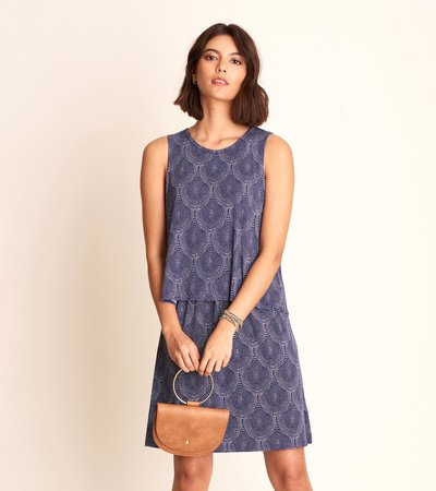 Roberta Dress - Scallop