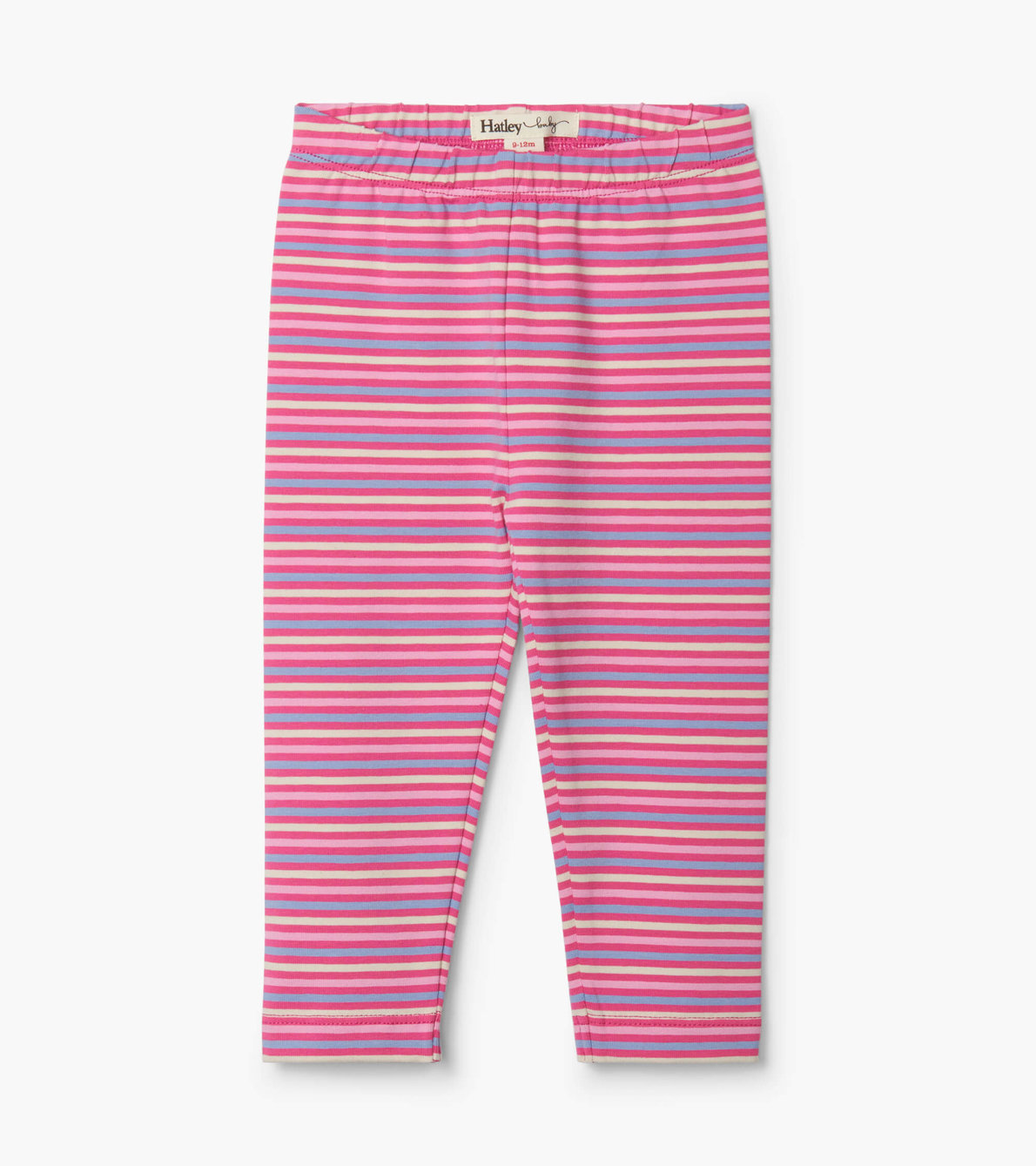 View larger image of Rose Stripes Baby Leggings