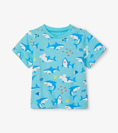 Shark Party Baby Graphic Tee