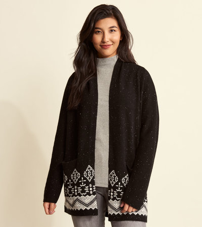 Shawl Cardigan - Black