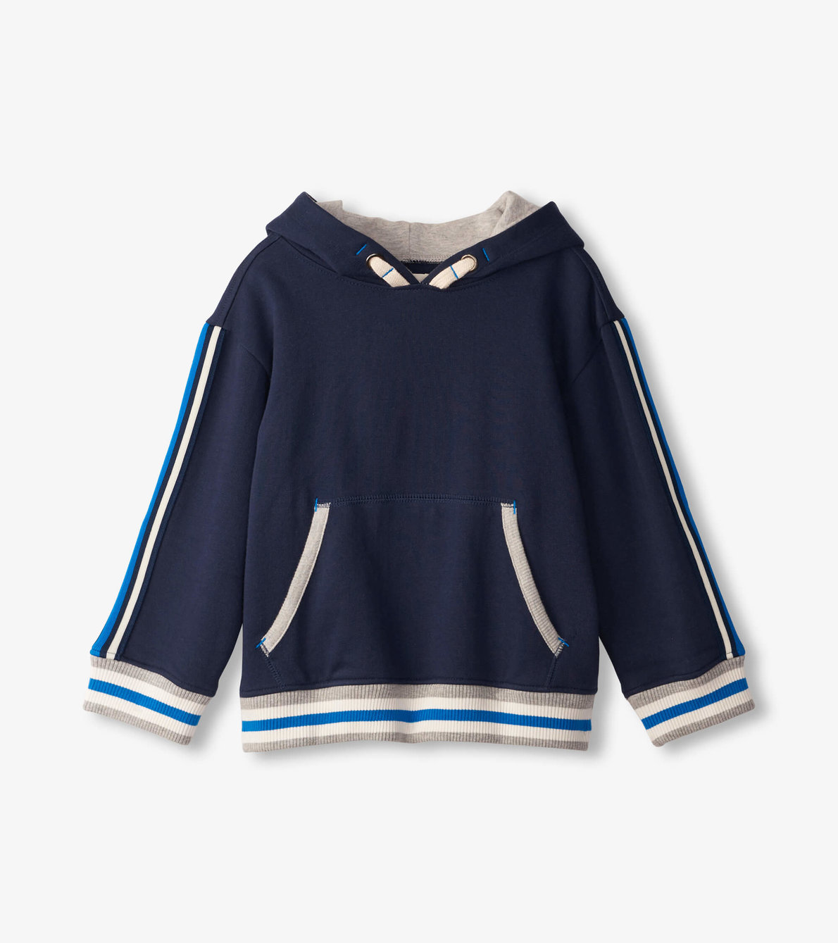 View larger image of Side Stripe Pull Over Hoodie