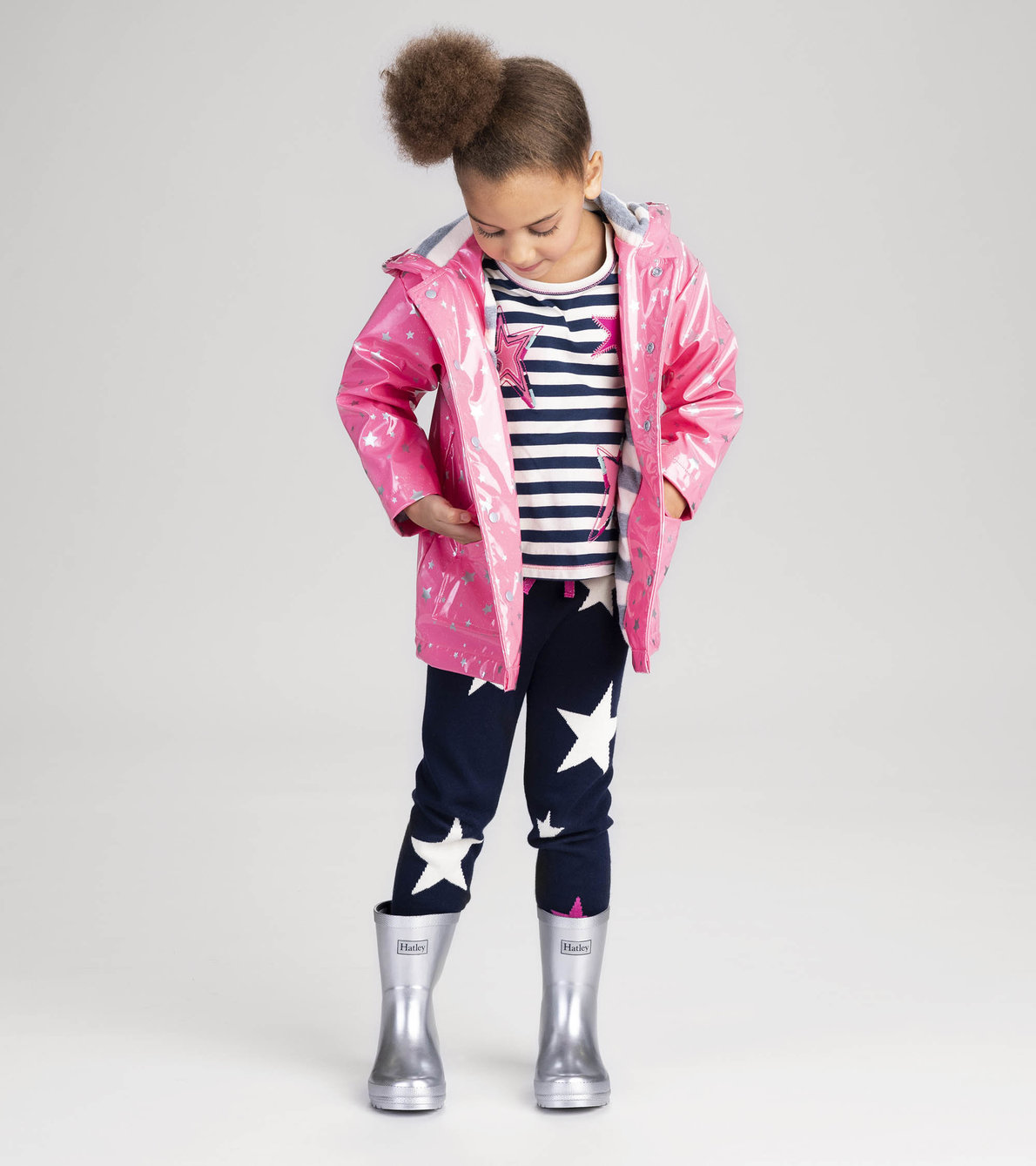 View larger image of Silver Shimmer Rain Boots
