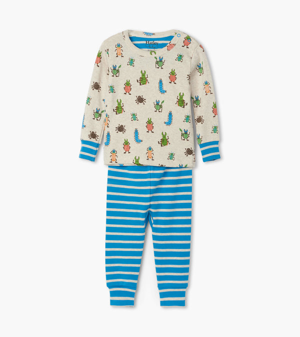 Snug Bugs Organic Cotton Baby Pajama Set
