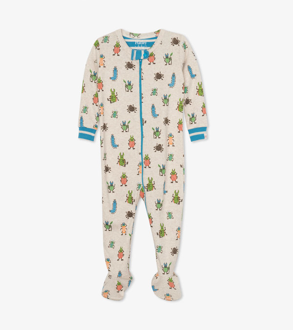 Snug Bugs Organic Cotton Footed Coverall