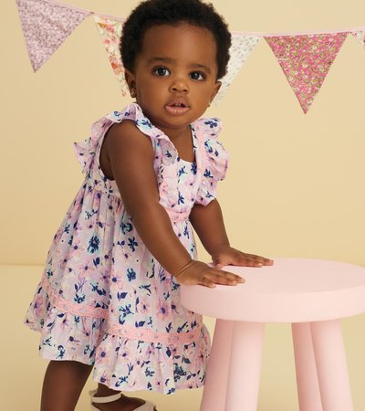 Spring Blooms Baby Party Dress