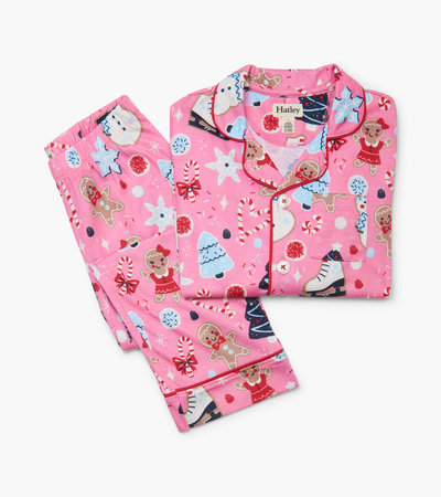 Sugar Rush Button Down Pajama Set