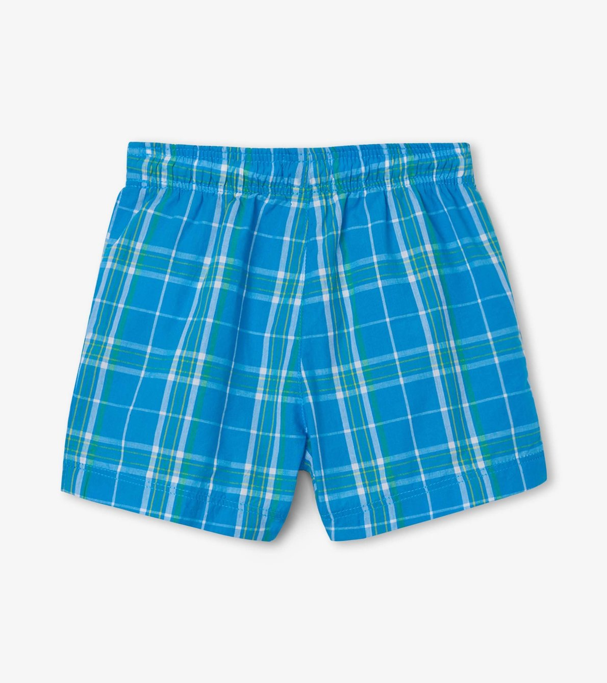 View larger image of Summer Plaid Baby Woven Shorts