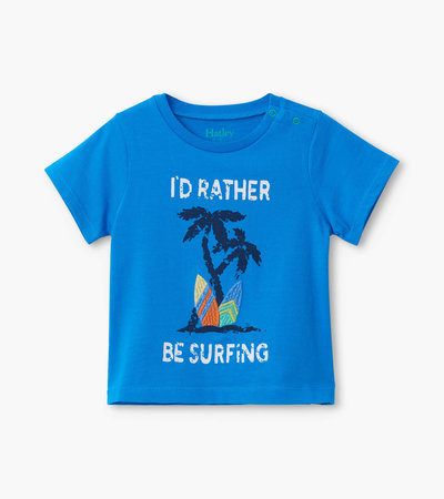 Surfing Baby Graphic Tee
