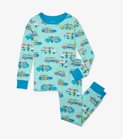 Surfs Up Organic Cotton Pajama Set